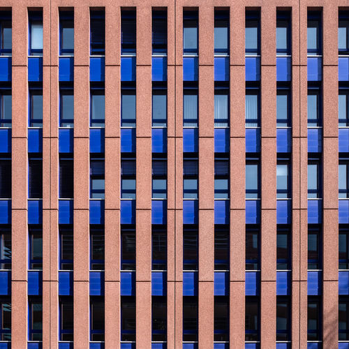 Built Structure Architecture Full Frame Building Exterior Pattern Blue No People Backgrounds Day Repetition Building Window In A Row Outdoors Side By Side Sunlight City Low Angle View Modern Design