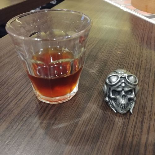 Coffee - Drink Coffee Skull Ring Skullring