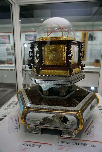 田中久重の万年時計(複製) Musium
