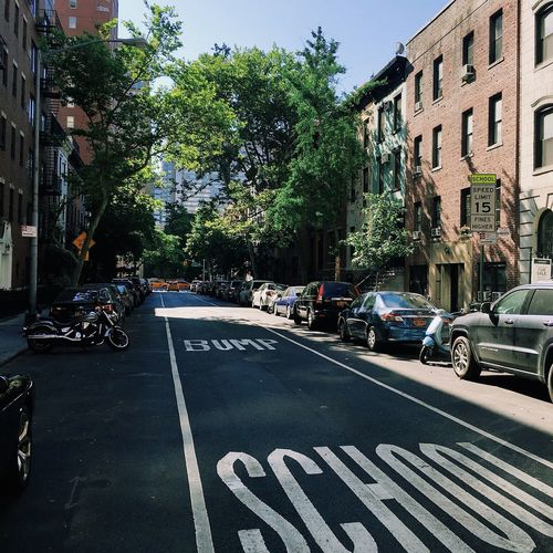 School bump Building Exterior Street NYC Outdoors IPhone