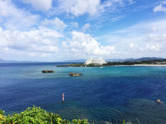 Manzamoh🌊One of nice place in Okinawa.