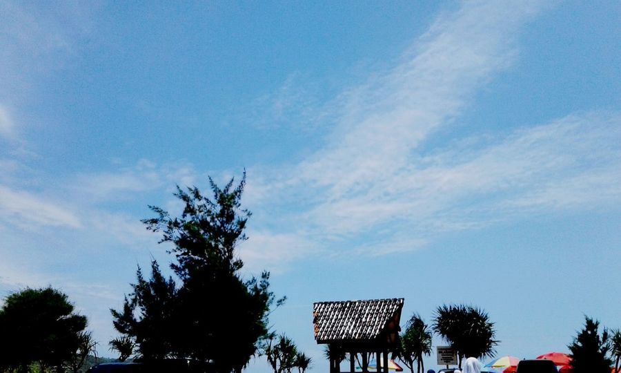 Architecture Low Angle View Tree Nature Day Traveling Home For The Holidays Loveindonesianature National Icon Sky Cloud - Sky Built Structure No People Outdoors Love To Take Photos ❤ Beautiful Nature Beautiful Day Good Times First Eyeem Photo Beauty In Nature Cantiknusantara Indonesiaku Pantaikrakal