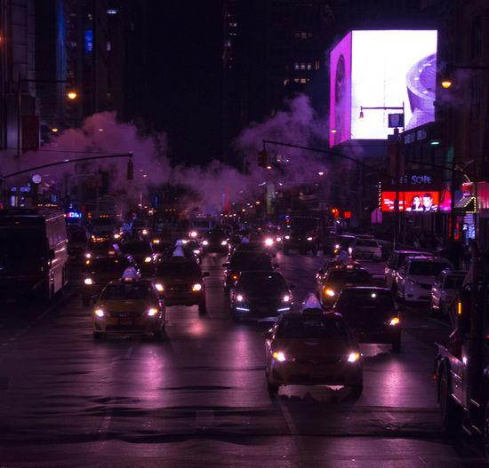 Busy Car City