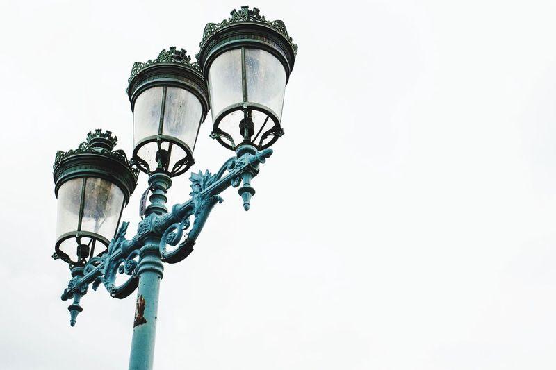 Toulouse Pont Lampadaire Lumière Centreville Moments Ciel Nuageux 📷📸