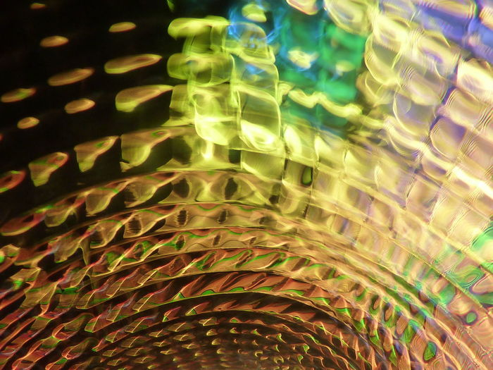 Full frame shot of abstract light paintings