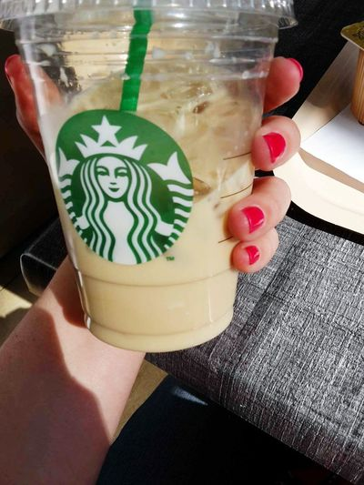 Drink Statbucks Chai The Latte Glacé Nail Color  Manucure Vernis Gel