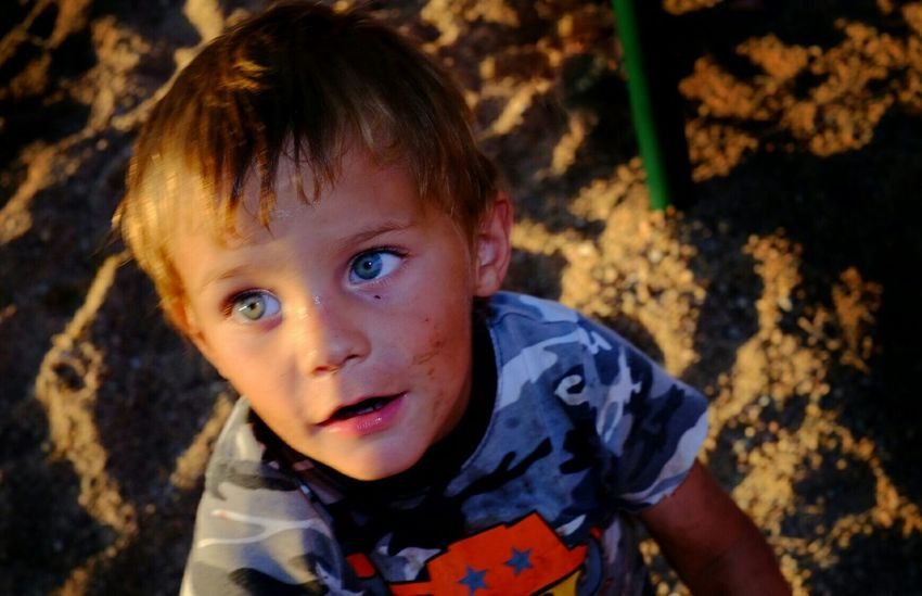 This little fellow started following me around was very curious about my camera and flash, so I made a picture and showed it to him, he gave me a huge smile and ran off to play. Curiousity Kids Being Kids Color Photography Taking Pictures CameraMan A Day In The Life Small Town USA