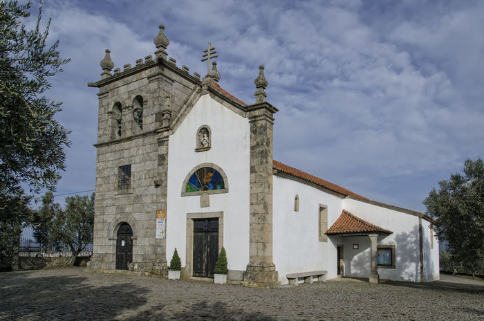 Arch Architecture Building Exterior Built Structure Day Façade Lamego,Portugal No People Outdoors Place Of Worship Religion Sky Spirituality Travel Destinations Tree