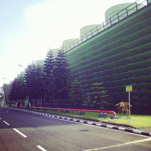 PLTP Kamojang's Cooling Tower. PLTP Kamojang Garut Jawabarat indonesia pembangkit listrik tenaga panasbumi panas bumi Electricity  energy Indonesiapower unit bisnis pembangkitan Generating bussiness Unit Cooling  Tower