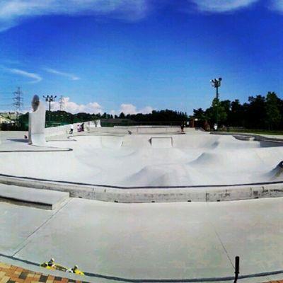 too hooot!! 熱いーー  Planetpark Skatepark Skateboard Sk8