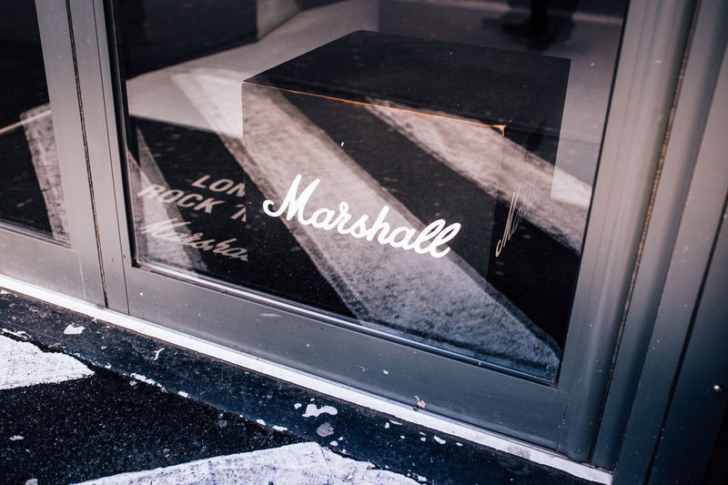 Marshall Marshall Amp Amp Amplifier Reflection Reflecting Boxpark Boxparkshoreditch London Guitarist Guitar Music Music Equipment Musical Equipment