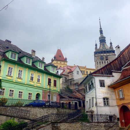Schassburg citadell. VividHDR IPhone Sighisoara Segesvar Schassburg Transylvania Travel Roadtrip Romania