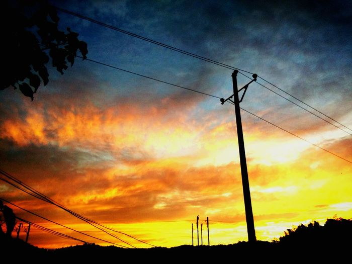 黄昏时 Nature