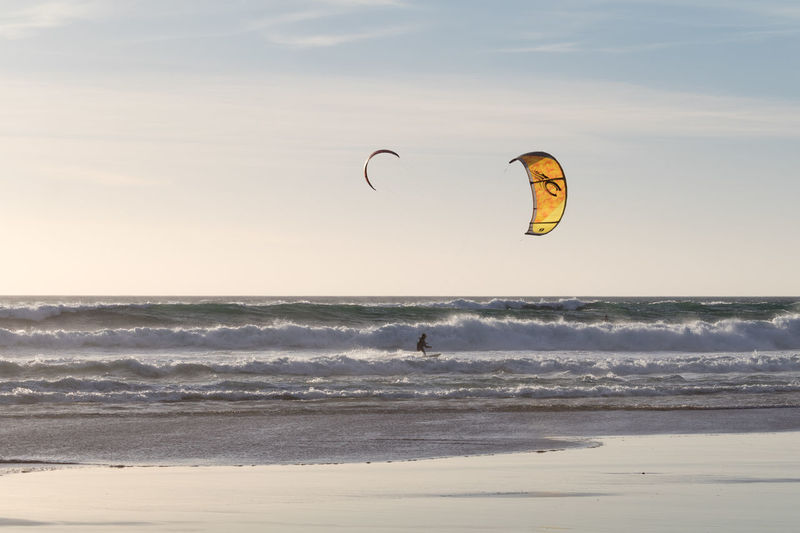 Adventure Extreme Sports Eye4photography  EyeEm EyeEm Best Shots EyeEmBestPics From My Point Of View Kiteboarding Leisure Activity Lifestyles Motion Nature Outdoors Parachute Real People Scenics Sea Sky Sport Water Wave