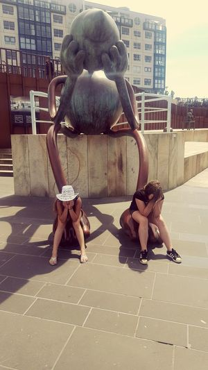 The Week On EyeEm People Outdoors Day Girls Just Wanna Have Fun :) Sisterlove Sisters♡ Scheveningen Promenade