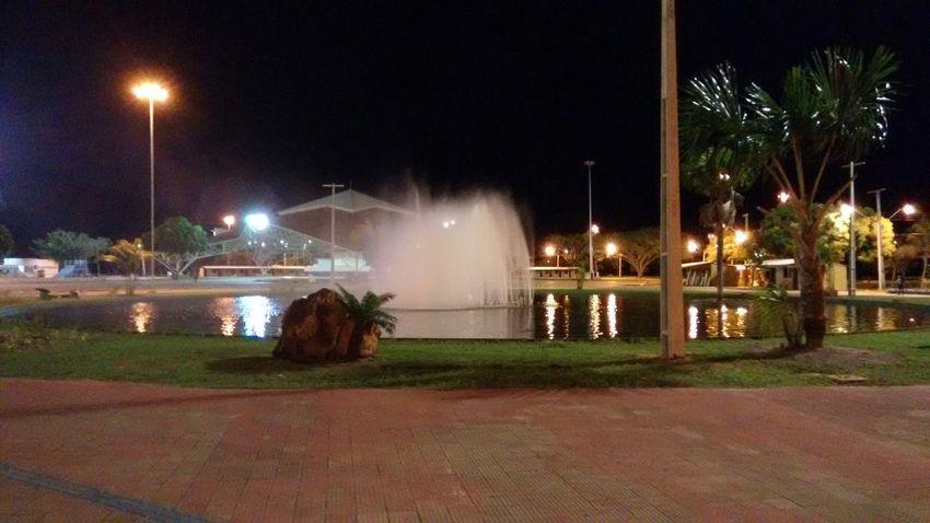 Quando funciona é assim! Bela. Fountain Park