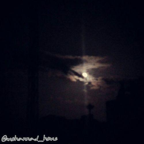 بدر حمص الليلة .. ترافقه سحابة النصر ! هنا_حمص :)