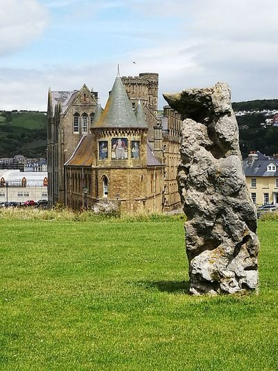 Ruins Monolithic  Wales❤ Welsh Coast Hometown Castle Theological College Mosaic Art EyeEmNewHere