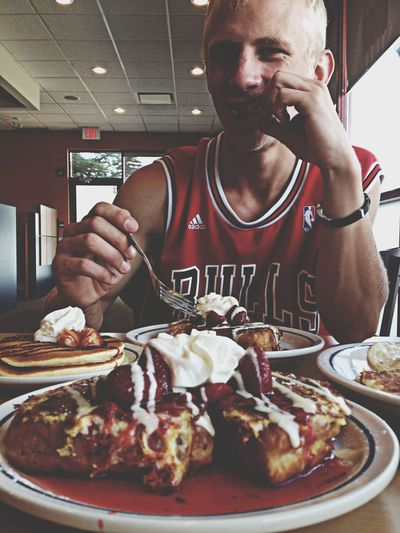 Breakfast with my love ???❤️??? Ihop Pancake Fucking Bitches Sotasty Imfreefalling