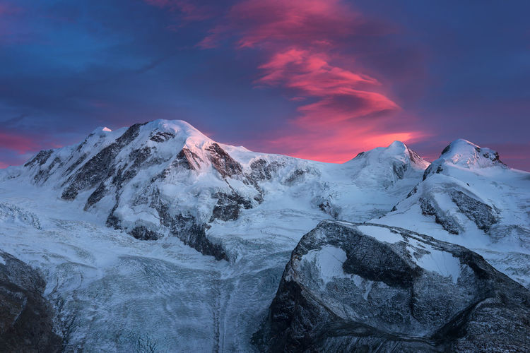 Monte Rosa Glacier Ice Monte Rosa Schweiz Schweizer Alpen Snow ❄ Switzerland Alps Beauty In Nature Cold Temperature Day Glacier Monte Rosa Sky Mountain Nature No People Outdoors Scenics Sky Snow Switzerland Switzerlandpictures Tranquil Scene Tranquility Travel Destination Travel Destinations Winter