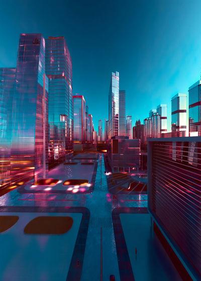 Futurist city