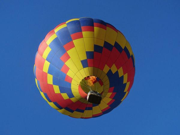 Hot air balloon. Balloon Fiesta New Mexico Balloon Colorful Hot Air Balloon