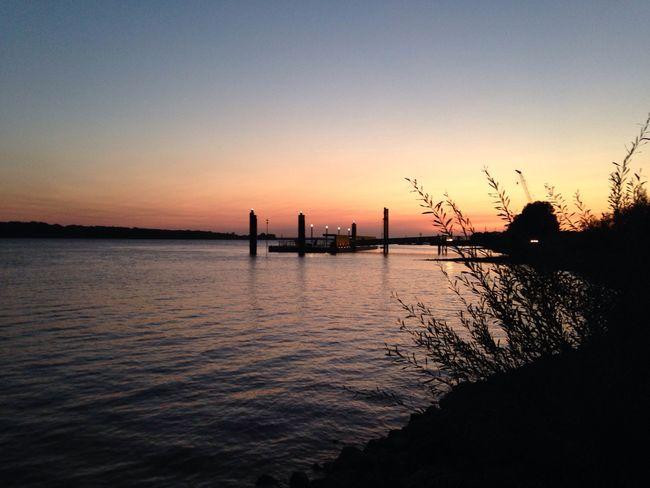 Sunset nostalgia