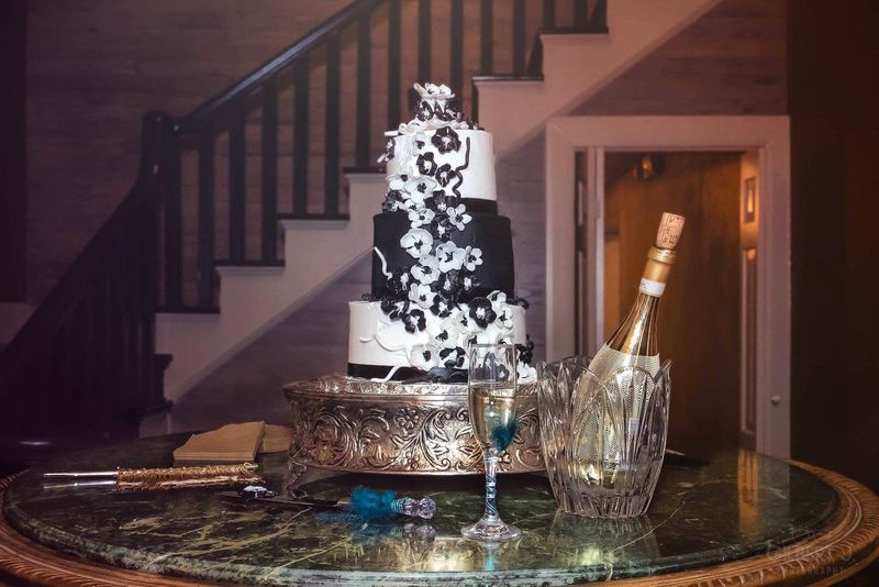 Showcase: December Event Celebration December Cake Formal Party Champagne