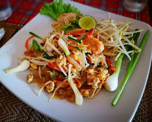 Pad thai Lunch Time Foods Food Photography Food And Drink Ready-to-eat Food Thai Food Thaifood Thaifoods Food And Drink Foodphotography Lunch Time! Lunch