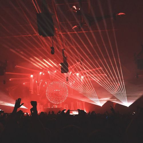 [3/3] The Temple of light - This was Qlimax 2017 Event Stage Qlimax Music Lasershow Light Crowd Audience
