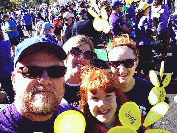 Walk To End Alzheimer's AlzheimersAwareness Endalz Family