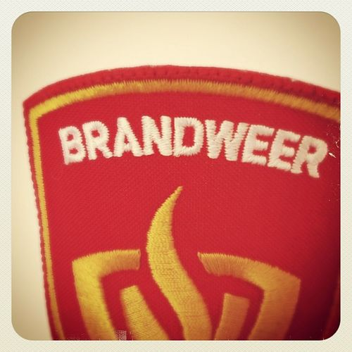Naarden Brandweer Overhemd Strijken Latedienst :-)