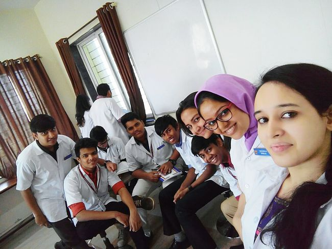 My Student Life in Anatomy lab between busy schedule a break to enjoy with freinds