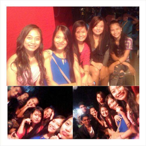 Had a great & unforgettable night with my highschool family Tangalangs' birthday bash. 💋 See y'all to next birthday celeb. 😻 Sino kaya! 😹 Lovey'all. WalangPanget WalangPores PinagpalangMgaMukha 😻