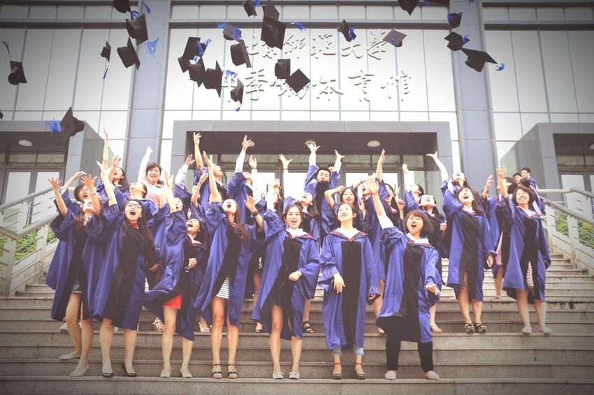 Graduate!Take care,guys~