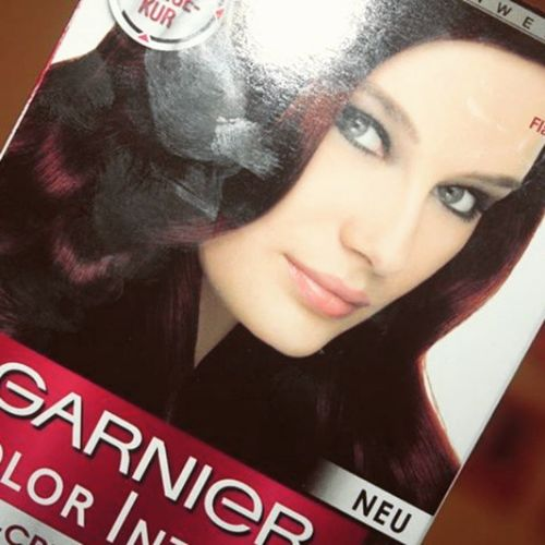 Garnier Colorintense Haircolor Beauty Hair Brown Beautiful Love Instalike Instagramers Instamood Instagood Instafollow Followme F4F Like4like