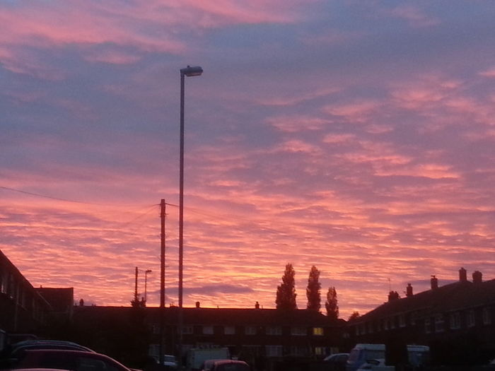 Sunset Dramatic Sky Cloud - Sky Sky No People Outdoors Illuminated Red Orange Pinks Clouds Colourful Sky