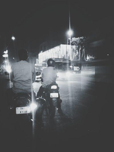 Fast lane Traffic Night Lights Popular Photos Black And White