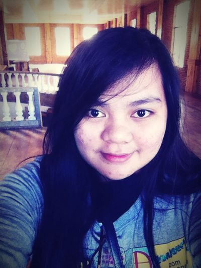 Selfie ✌ Asian Girl Smile Eyes Philippines Cute Baguio City