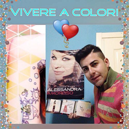 Alessandraamoroso ❤️ Vivere A Colori 🎨 Sandrina 😘 Stupendo Fino a qui 😍 Vivere A Colori Instore Tour La Feltrinelli Napoli 💙