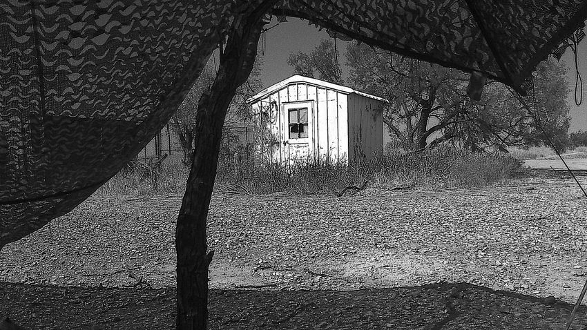 Ft.sill, Oklahoma Abandoned Places Architecture Scapes Of Ruin 🏚️ By T.Clark Dark By Tisa Clark🌑🌌 Black & White By Tisa Clark Field Shack Abandoned Abandoned Buildings Nowhere