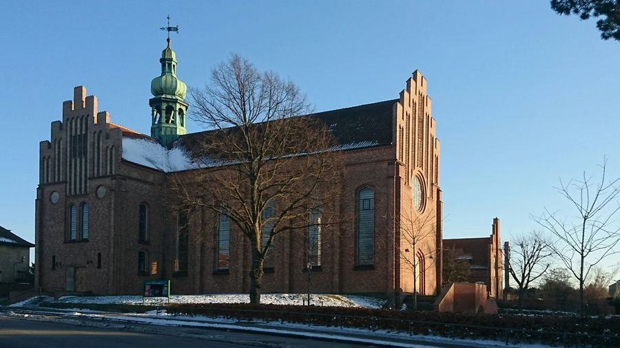 The Place Where I Work Messiaskirken Messiahchurch Charlottenlund Denmark Church The Roof Is High A Place For Worship