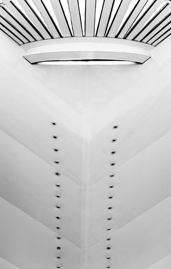 Ceiling No People Indoors  Pattern Architectural Design Built Structure Architecture Close-up Day Space Creative Architecture_collection Rio De Janeiro Art Brazil Museum Futuristic Modern Architecture Low Angle View Indoors  Light Black & White Black And White Lights EyeEm Ready