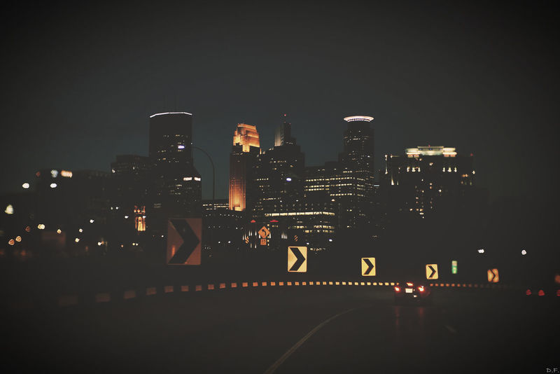 Downtown Minneapolis CityAtNight Nightphotography Frommycar Manuallens