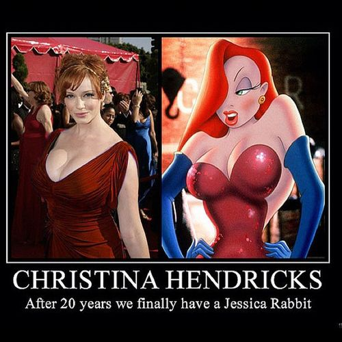 Christinahendricks Jessicarabbit