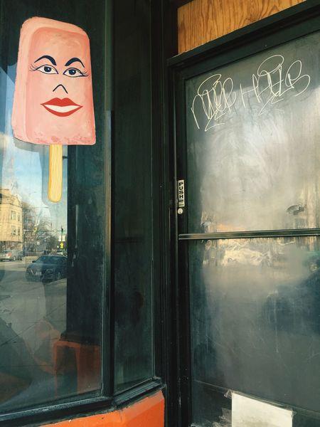 A Treat to Celebrate Eyeemfivesenses/taste Chicago Dessert Art Painting Popsicle Sign EyeEmFiveSenses