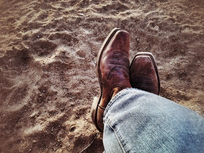 Boots Ready For The Day Life Is A Highway High Desert