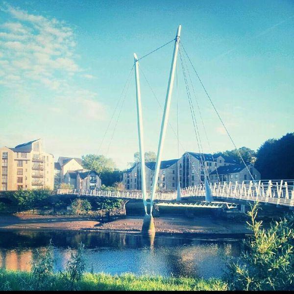 Lancaster Lancashire Lancaster Bridge River View Urbanphotography Summertime Architecture Architecture_collection