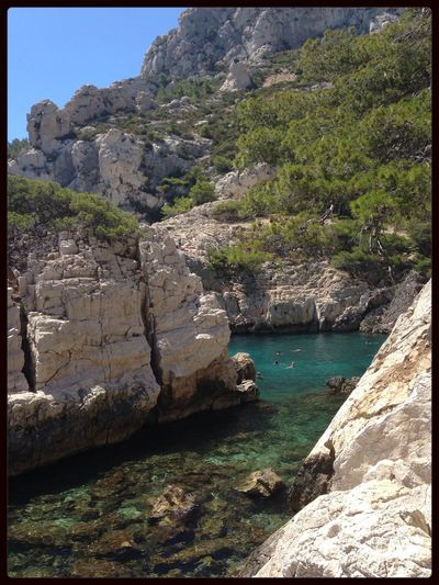 Calanques  Sugiton Marseille France