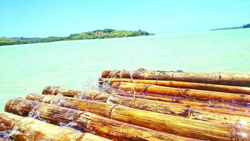 Beach Beachlife CaramoanIslands Itsmorefuninthephilippines Itsmorefuninph Islandlife Bambooraft